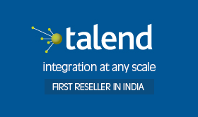 We are now Talend's first reseller in India