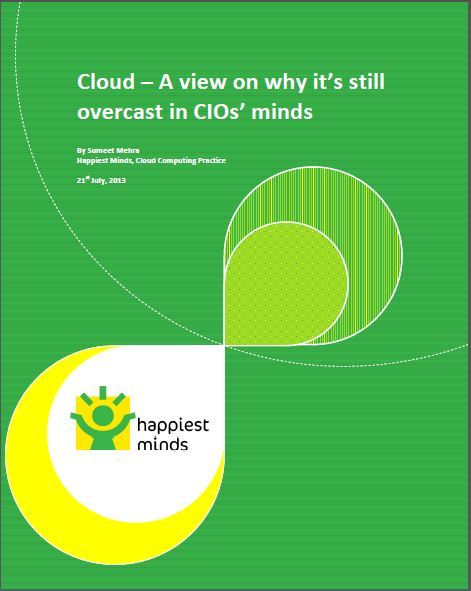 Cloud – A view on why it's still an overcast in CIOs' minds