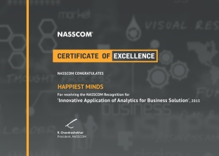 Innovative Application of Analytics for Business Solution 2015