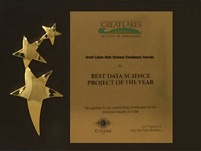 Great Lakes Data Science Excellence Award