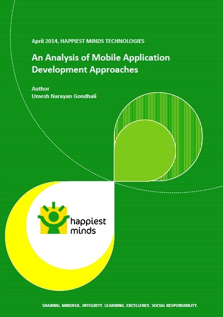 An Analysis of Mobile Application Development Approaches