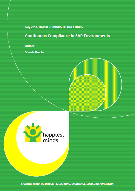 Continuous Compliance in SAP Environments